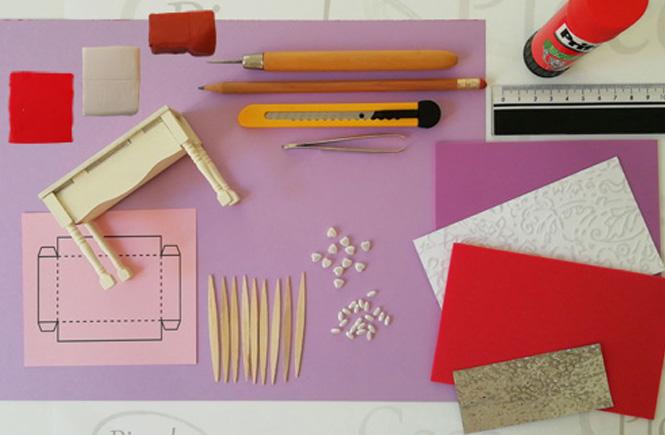 Materiales necesarios para hacer el pastel y las galletas de San Valentín
